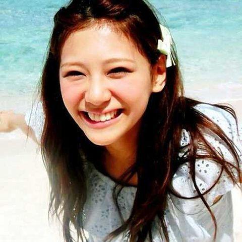 海には、この明るい笑顔がよく似合う!