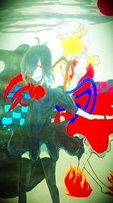 『【未確認幻想飛行少女】と【悪魔の妹】』の画像(プリ画像)
