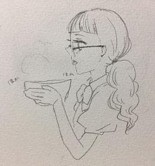 プリパラのラーメン食べてるアノ子の画像(おえかきに関連した画像)