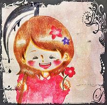 微笑む少女の画像(プリ画像)