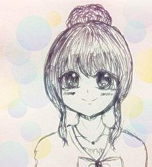 涙目の女の子の画像(プリ画像)