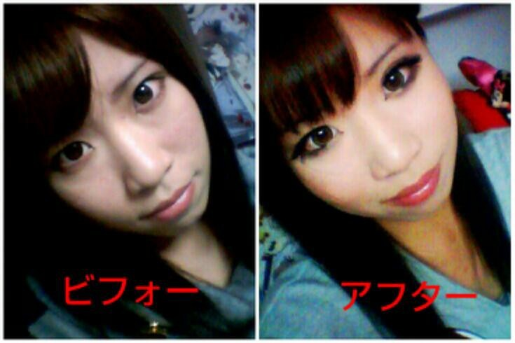 before→After : 【化粧ビフォーアフター】藤田ニコル・ローラ芸能 ...