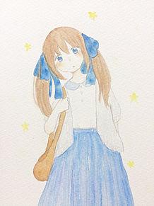 青いリボンの画像(プリ画像)