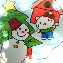 サンリオ キティ クリスマス プリ画像