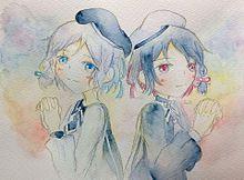 色探しの双子 プリ画像