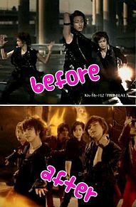 FIRE BEAT  beforeafter プリ画像
