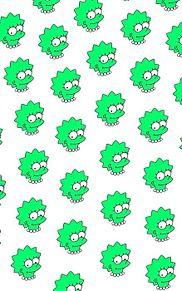シンプソンず/緑の画像(プリ画像)