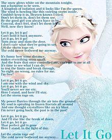 アナと雪の女王 エルサ LetItGo プリ画像
