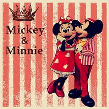 ミッキー&ミニー プリ画像