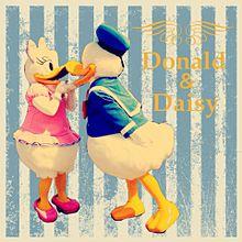 ドナルド&デイジー プリ画像