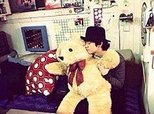 なかじん 熊に恋をする プリ画像