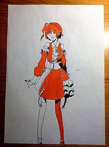 友達が描いた2の画像(如月モモに関連した画像)
