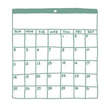 アイコン 手書き カレンダーの画像(カレンに関連した画像)