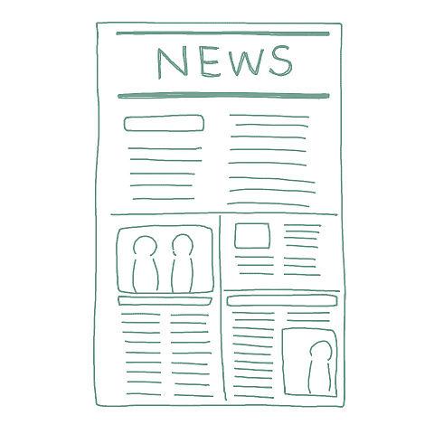 アイコン 手書き NEWSの画像(プリ画像)