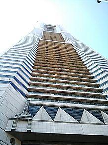 真下から撮ってみたin横浜ランドマークタワー プリ画像