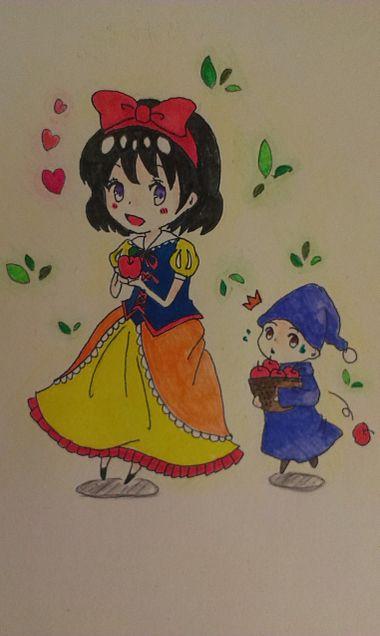 黒雪姫ちゃん描かせてもらいましたの画像 プリ画像
