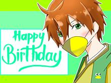 鳥ちゃんの誕生日 プリ画像