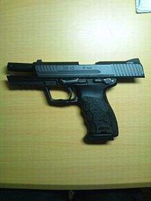 東京マルイガスブロ HK45の画像(プリ画像)