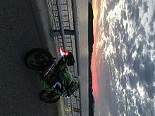 角島大橋とバイクの画像(BIKEに関連した画像)