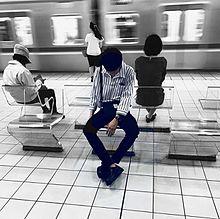 暗め男の子の画像(電車に関連した画像)