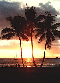 HAWAII ハワイ 綺麗 海 海外 風景 待受 外国の画像(プリ画像)