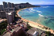 HAWAII ハワイ 海外 海 ミニ画 綺麗 風景の画像(プリ画像)