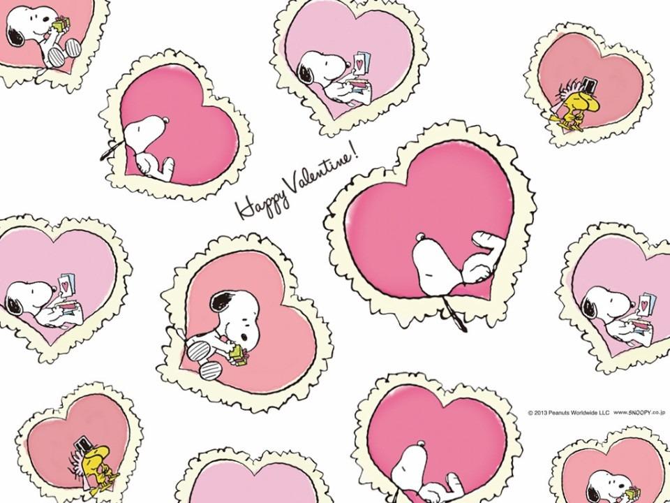 スヌーピーとバレンタイン
