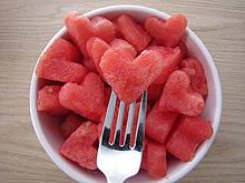 heart watermelonの画像(プリ画像)