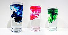 blue red greenの画像(液体に関連した画像)
