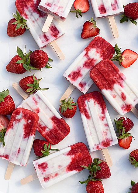 strawberry ice creamの画像(プリ画像)