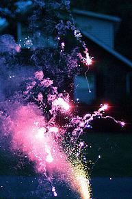fire works プリ画像