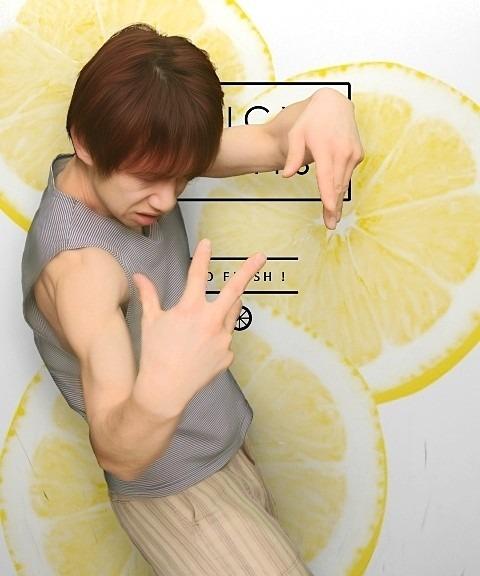 少年 レモン