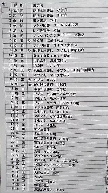 YES!プリクラ王子2 配列提携書店 その①の画像(プリ画像)