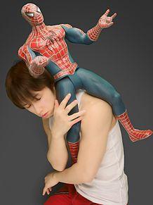 スパイダーマンと一緒♪の画像(聖総悟に関連した画像)