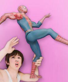 元気いっぱいスパイダーの画像(ポーズに関連した画像)