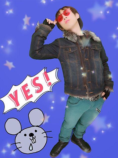 YES!ネズミ年の画像 プリ画像