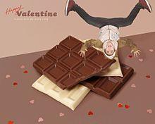 好きな人にチョコは渡せたかい?の画像(好きな人に関連した画像)
