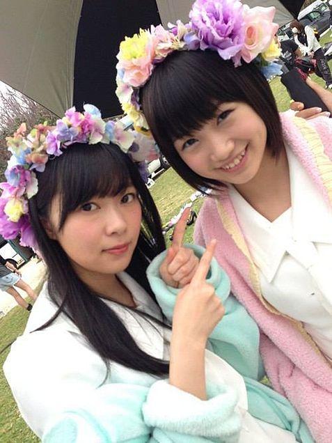 HKT48 指原莉乃 朝長美桜の画像(プリ画像)