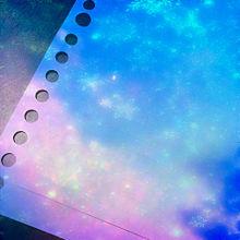雪の結晶 ルーズリーフの画像(プリ画像)