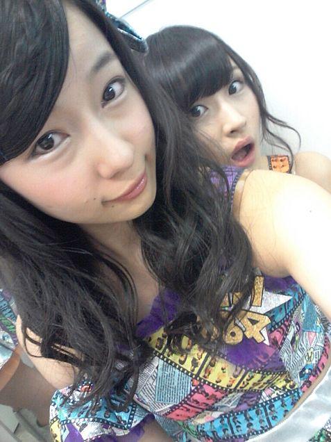 NMB48 村瀬紗英 村上文香の画像(プリ画像)
