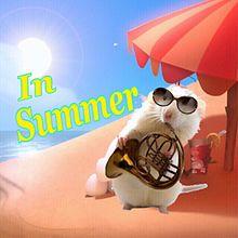 あこがれの夏のドブネズミの画像(金管楽器に関連した画像)