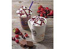 世界的有名店がチョコレートとブルーベリーのティーラテとフローズンドリンクを好評販売中!の画像(フローズンドリンクに関連した画像)