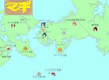マギ地図の画像(煌帝国に関連した画像)