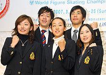 2007世界フィギュア 会見の画像(高橋大輔に関連した画像)