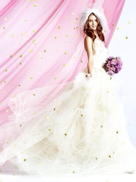 真っ白なドレス(*^^*)の画像(プリ画像)