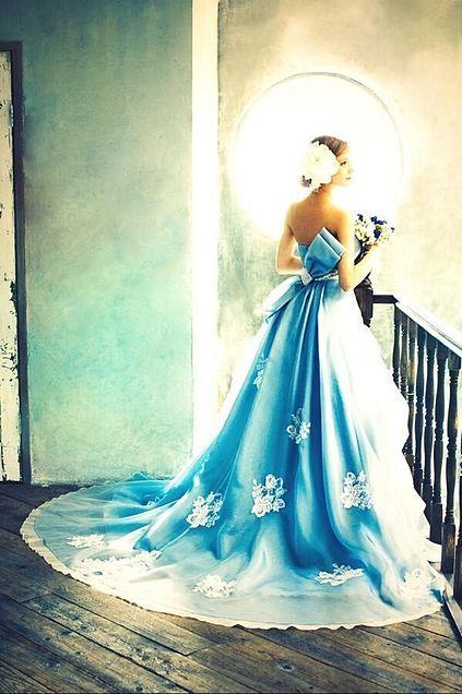 Blueドレス(*^^*)の画像(プリ画像)