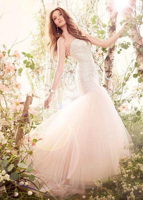 上品なウエディングドレスの画像(プリ画像)