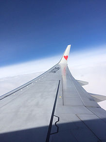 飛行機SKY プリ画像