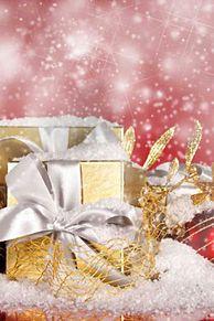 クリスマス キラキラ 綺麗 背景 高画質 プリ画像