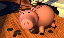 ハムの画像(貯金箱に関連した画像)